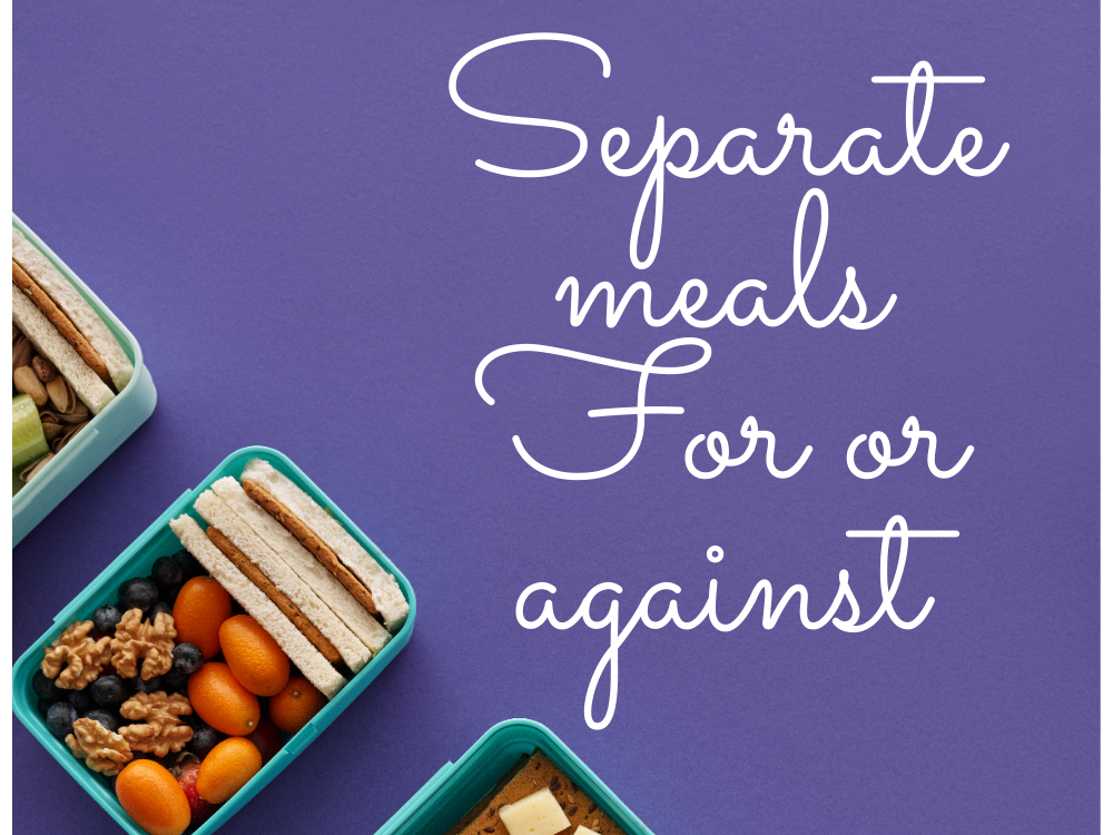 Separate diet
